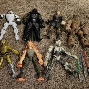 Star wars action figure bundle